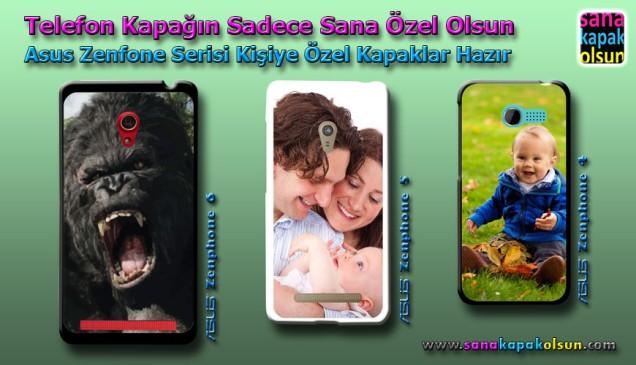 Asus Zenfone serisi için Kişiye Özel Kapaklar SanaKapakOlsun