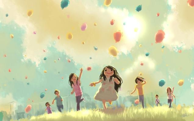 mutlu-cocuklar-ve-balonlar