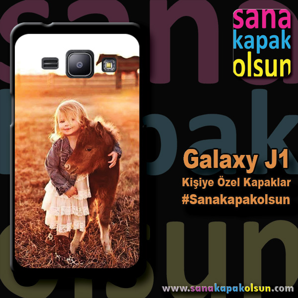 galaxy j1 kişiye özel kapağı