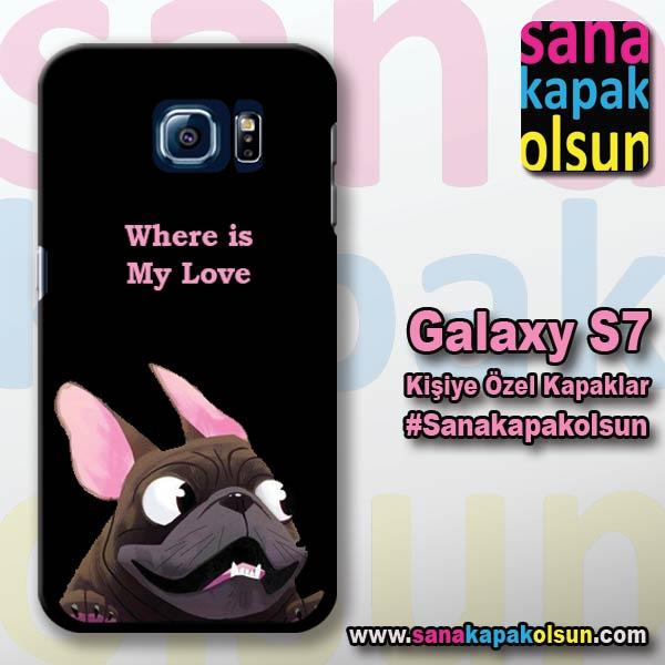 kisiye ozel galaxy s7 kapagi